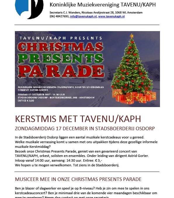 Kerstconcert met TAVENU / KAPH